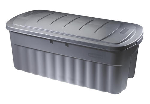 Rubbermaid Roughneck 50 Gallon Gray Storage Tote at Menards