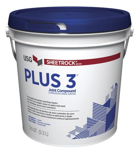 Sheetrock Plus 3 Pre Mixed Lightweight All Purpose Joint Compound 1 Gallon At Menards