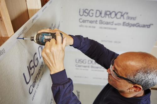 DUROCK® 1/2 x 3' x 5' Cement Board at Menards®