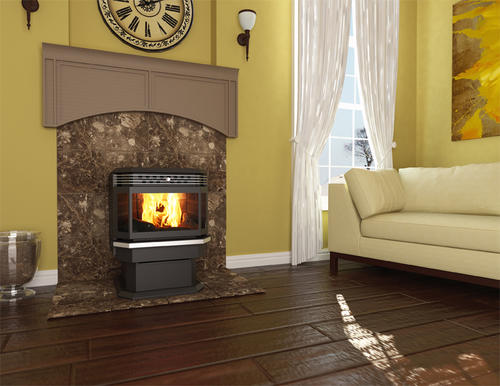 United States Stove Bay Front Pellet Stove With 50 Lb