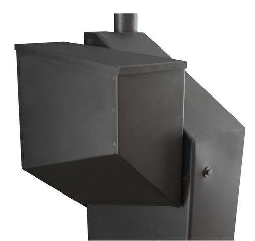 United States Stove Wiseway Pellet Stove With 60 Lb Hopper 2000 Sq