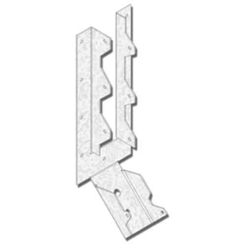 "MiTek® 2"" x 10"" Light Slope Joist Hanger at Menards®"