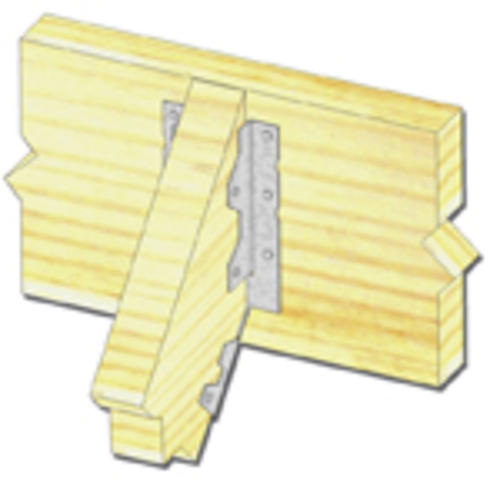 Mitek 2 X 6 8 Light Slope Joist Hanger At Menards