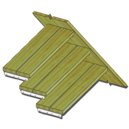 Mitek 1 3 8 X 10 Triple Zinc Stair Angle At Menards
