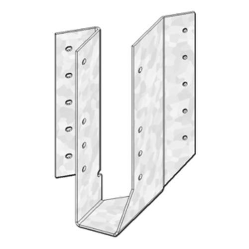 Mitek 2 X 8 10 12 Triple Zinc Skewed Left 45 Hanger At Menards