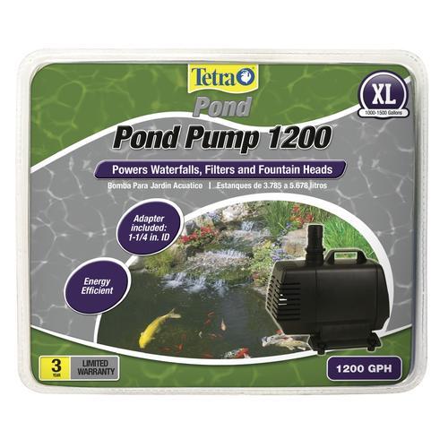 Tetra Reg Pond 1 200 Gph Pump