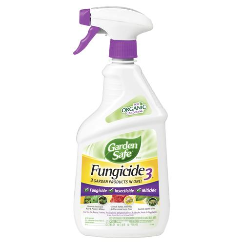 Garden Safe® Brand Ready-to-Use Fungicide3® - 24 oz  at Menards®