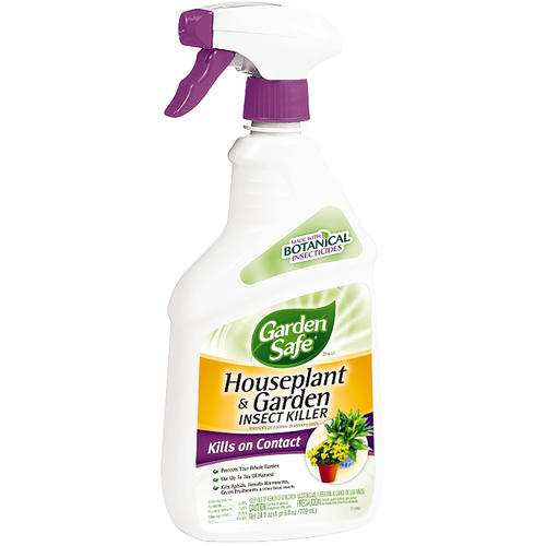 Garden Safe Brand Houseplant Garden Insect Killer Ready To Use