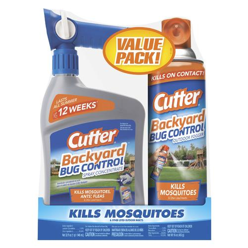 Cutter® Backyard™ Bug Control Concentrate and Fogger ...