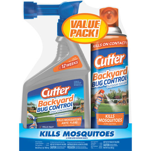 Cutter® Backyard™ Bug Control Ready-to-Spray Concentrate and Fogger - Value  Pack at Menards® - Cutter® Backyard™ Bug Control Ready-to-Spray Concentrate And Fogger