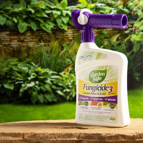 Garden Safe® Brand Fungicide3® Ready-to-Spray Concentrate