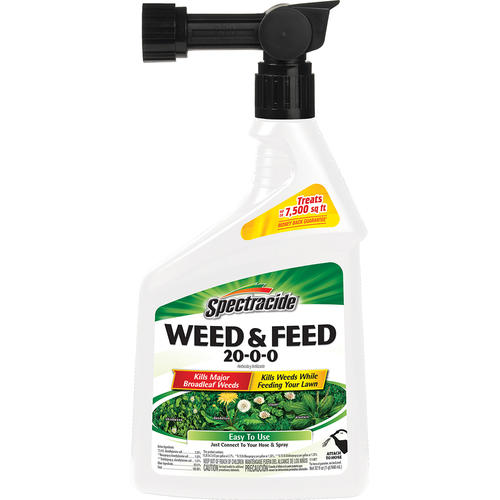 Spectracide Ready To Spray Weed Feed For Lawns 32 Oz At Menards