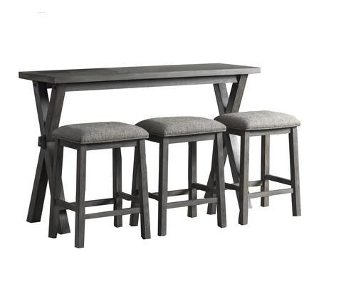 Strange Lane Home Furnishings Emmett 4 Piece Sofa Bar Set At Menards Ncnpc Chair Design For Home Ncnpcorg