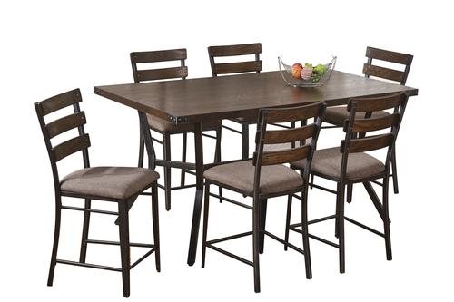 Simmons™ Hudson 7 Piece Counter Height Dining Set At Menards®