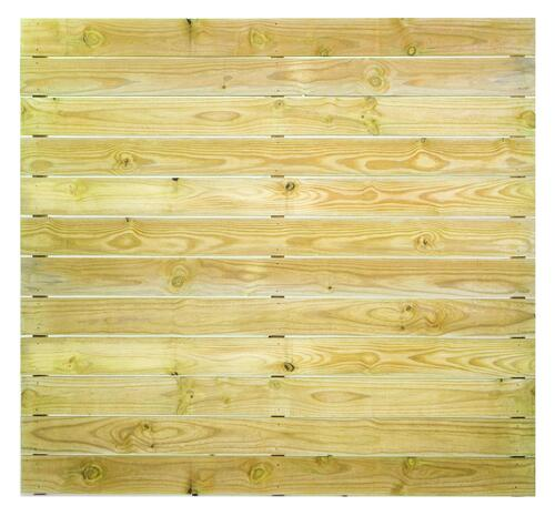 6 X 6 Pressure Treated Horizontal Wood Fence Panel At Menards
