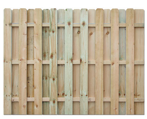 - 6' X 8' Shadow Box AC2® Treated Fence Panel At Menards®