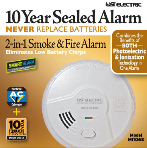 Universal Security Direct Wire Smoke Alarm At Menards