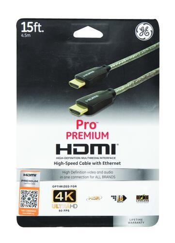 Ge 15 U0026 39  4k Hdmi Cable At Menards U00ae