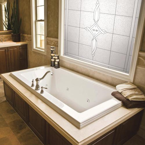 decorative glass windows traditional bathroom.htm hy lite 49  x 49  fixed amherst decorative glass picture window at  amherst decorative glass picture window