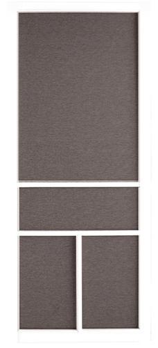 32 W X 80 H White Vinyl Screen Door
