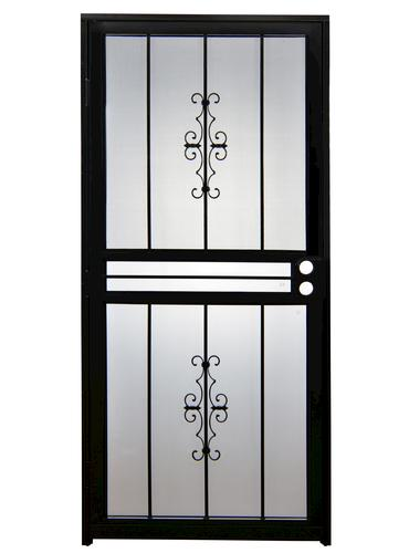 menards screen doors.  Tru Bolt 501 Steel Prehung Security Storm Screen Door at Menards