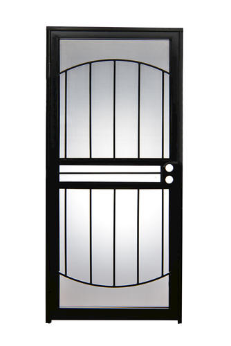 storm doors menards. Tru Bolt  502 Arch Steel Prehung Security Storm Screen Door at Menards