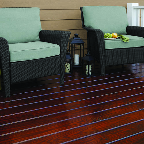 Cabot® Fireside Cherry Gold Exterior Finish Oil Based Stain   1 Gal. At  Menards®