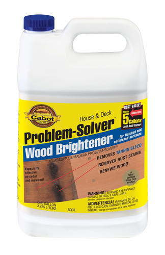 Cabot House & Deck Wood Brightener Concentrate 1 gal at Menards