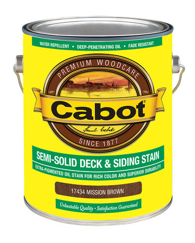 Cabot Mission Brown Exterior Deck And Siding Low Voc Semi Solid