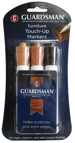 Guardsman 174 Furniture Touch Up Markers 3 Pk At Menards 174