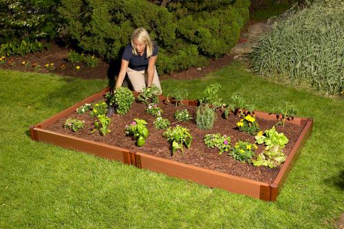 Classic Sienna Raised Garden Bed 4\' x 8\' x 5.5\