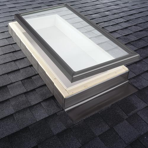 Velux Step Flashing Kits For Curb Mount Skylight On A Shingled Roof