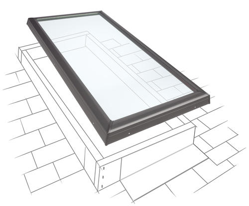 Velux Curb Mount Non Vented Skylight At Menards