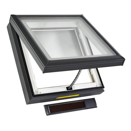 Velux 174 Curb Mount Solar Power Vented Skylight At Menards 174