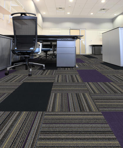 U Tile Crossroads Collection Modular Commercial Carpet 19 X 21 53 Sq