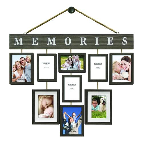 10 Piece Hanging Frame Collage Assorted At Menards