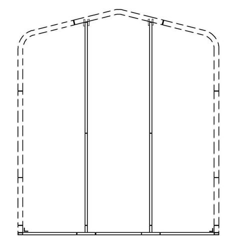 VersaTube® Back Enclosure Frame at Menards®