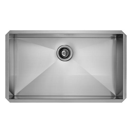 Vigo Undermount 32 Stainless Steel Single Bowl Kitchen Sink At Menards