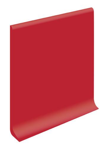 "VPI® Ruby Rouge 2-1/2"" x 1/8"" Vinyl Cove Base Outside Corner"