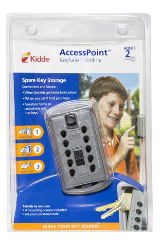 Kidde® Gray Slimline Key Safe Lock Box at Menards®