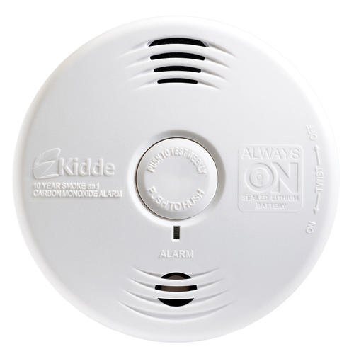 Lifesaver Battery-Powered Combination Carbon Monoxide and