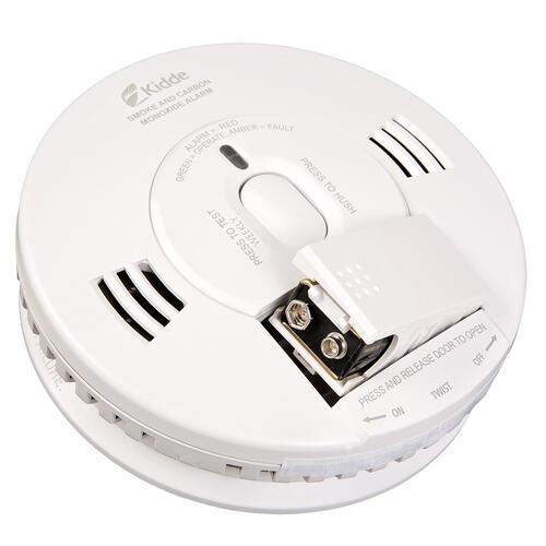 Kidde Trusense Battery Powered Combination Carbon Monoxide Alarm