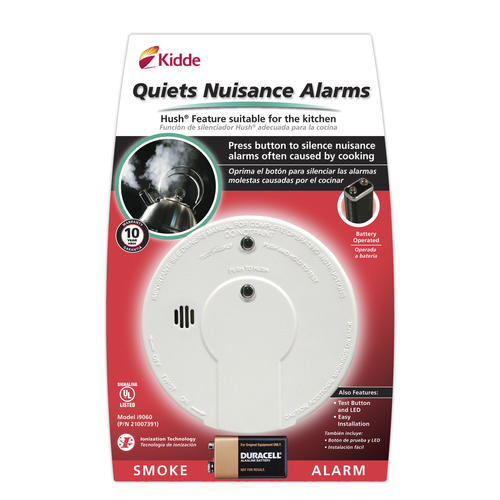 Battery Operated by Kidde Kidde i9060 Ionization Smoke Alarm