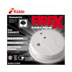 Firex Direct Wire Photoelectric Smoke Alarm At Menards