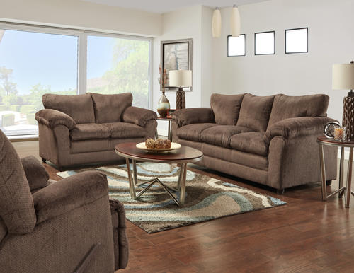 Kelly Chocolate Brown Loveseat At Menards