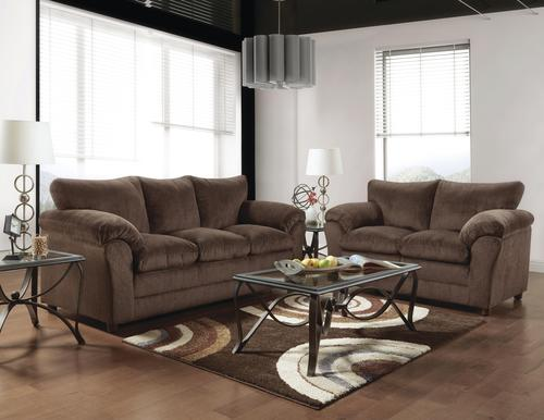 Kelly Chocolate Brown Sofa At Menards