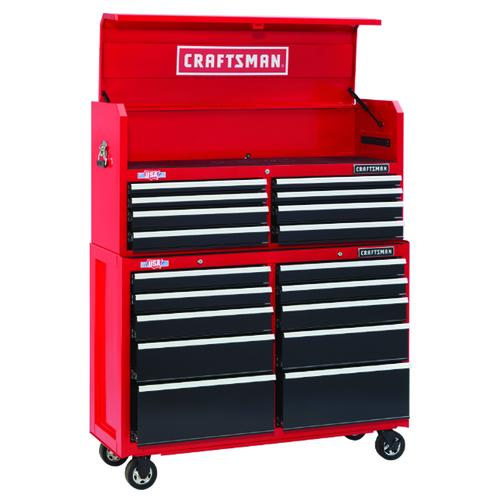 Red Black 18 Drawer Mobile Tool Chest