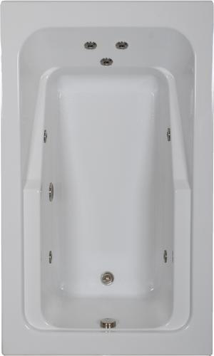 Comfortflo 66 X 42 Jet Whirlpool Bathtub At Menards
