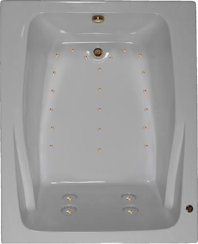Watertech 60 X 48 Air Whirlpool Bathtub At Menards