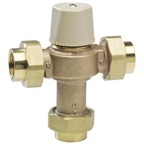 Watts Fip Lead Free Brass Hydronic Heat Thermostatic Mixing Valve At Menards